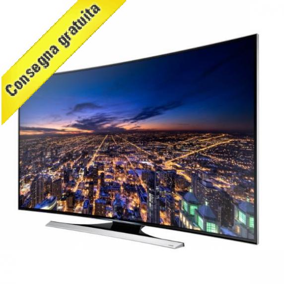 Tv led samsung 55 pollici 4k curved 3d i t prodotti for Distanza tv 4k